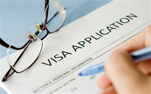 tourist visa application form