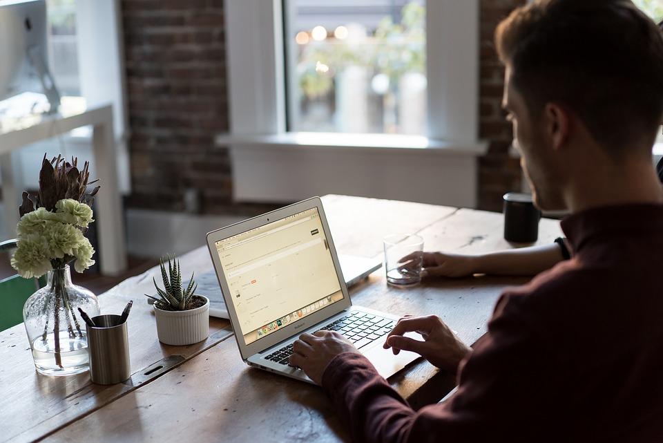 Work Laptop Desk Office Business Office Desk Room