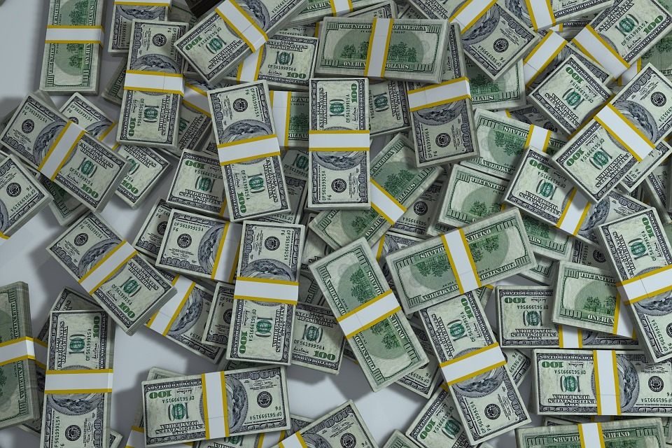 Packs Crisis Finance Money Currency Pile Success