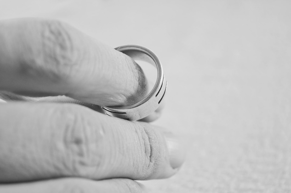 Marriage Finger Ring Hand People Divorce